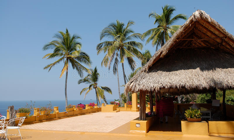 Pavillon au Mexique photo libre de droits