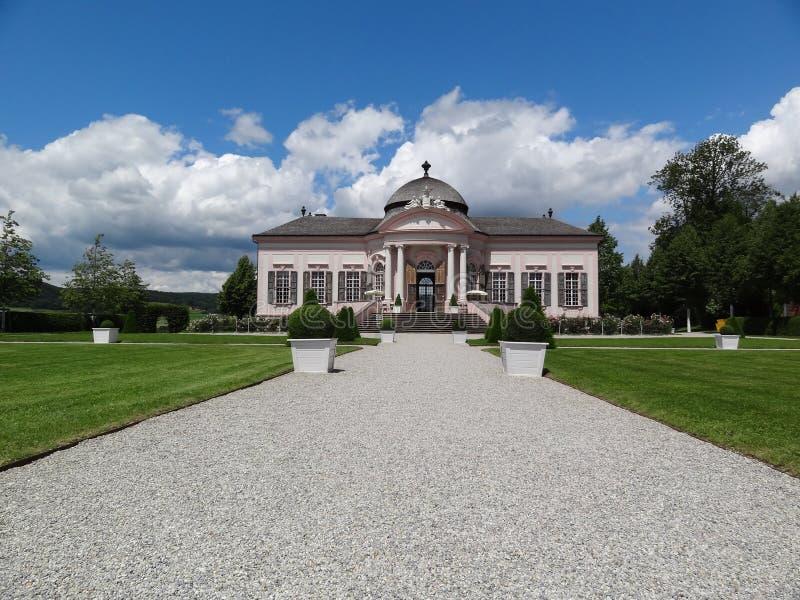 pavillon baroque de jardin dans l 39 abbaye de melk autriche. Black Bedroom Furniture Sets. Home Design Ideas
