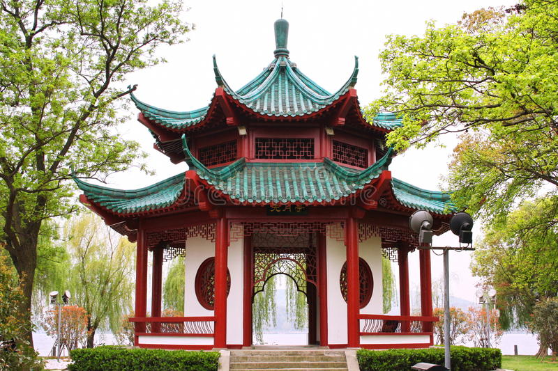 Pavillon chinois. photo libre de droits