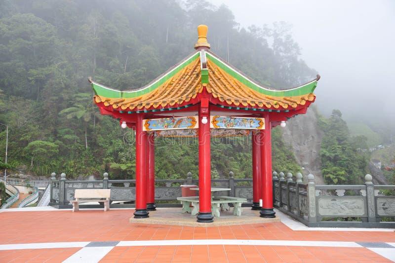 Pavillon dénommé chinois images stock