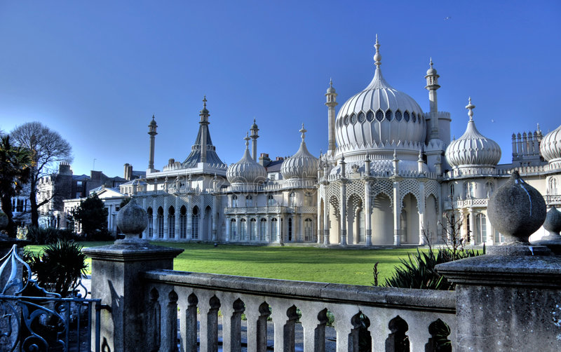 pavillon de Brighton royal photos stock