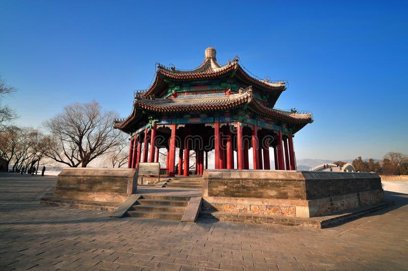 Pavillon de Chineses de palais d'été photo libre de droits