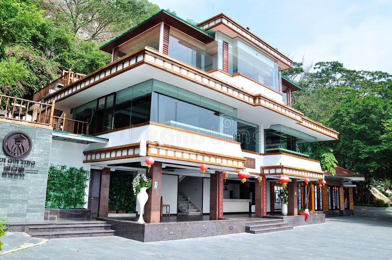 Pavillon de Huigui photos stock