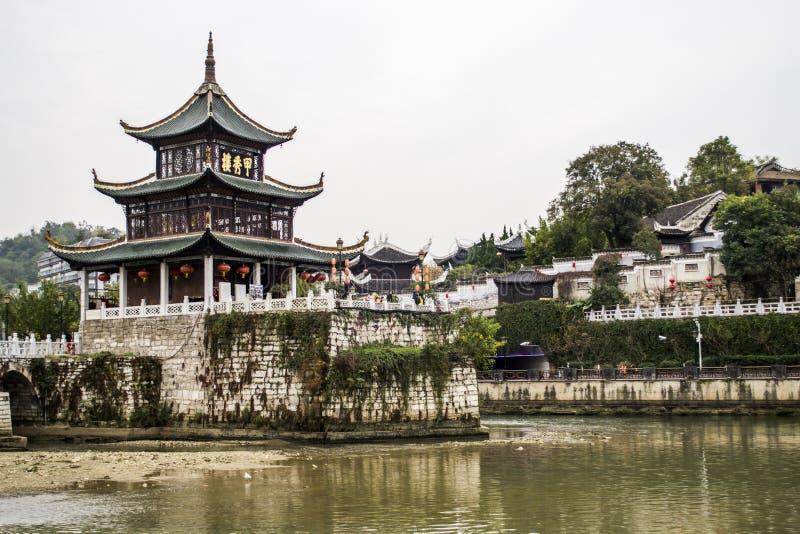 Pavillon de Jiaxiu de Guiyang image libre de droits