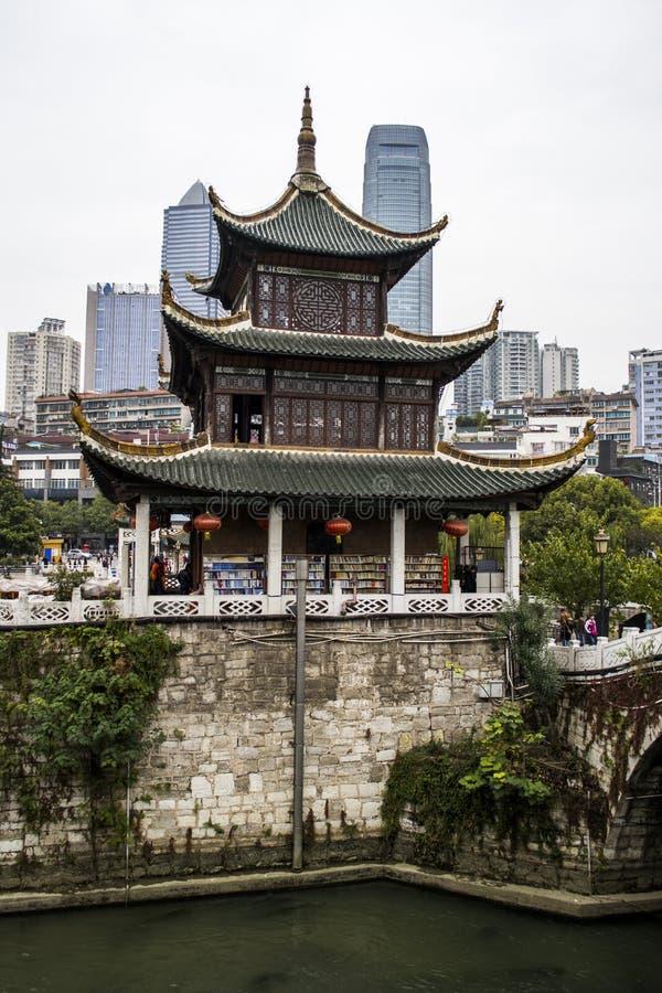 Pavillon de Jiaxiu de Guiyang images libres de droits