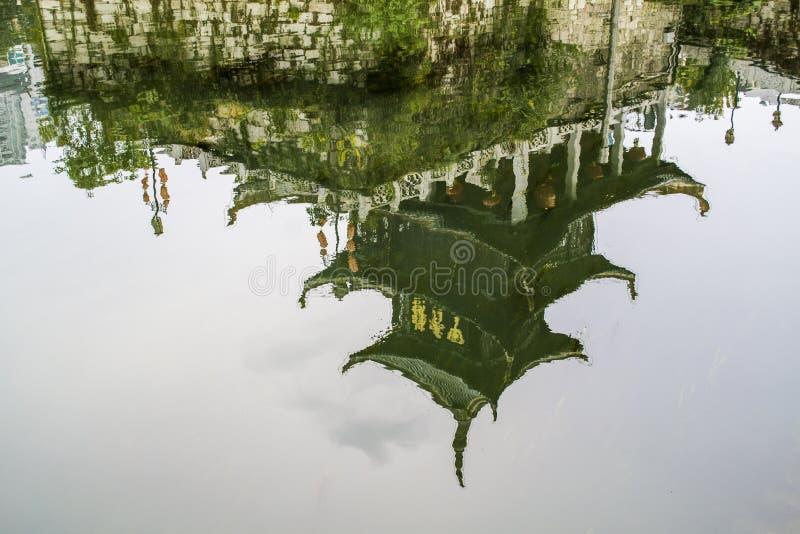 Pavillon de Jiaxiu de Guiyang photographie stock libre de droits