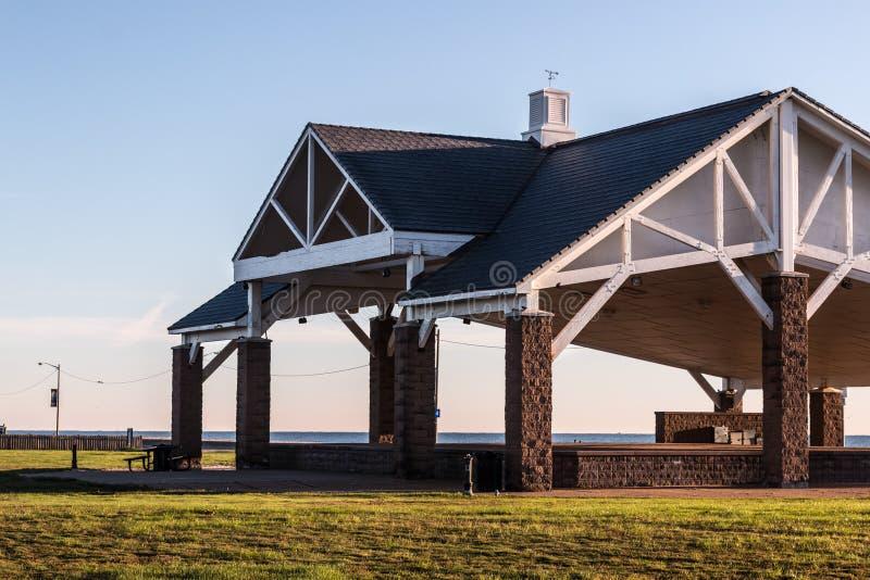 Pavillon de plage de Buckroe photographie stock libre de droits