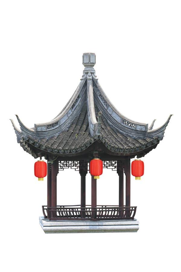 Pavillon de style chinois image stock