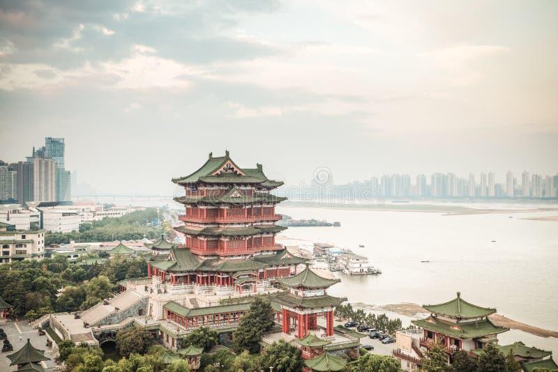 Pavillon de tengwang de Nan-Tchang photos stock