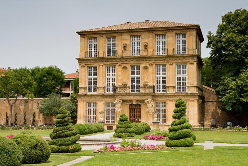 Pavillon de Vendome. Aix en Provence, Provence, France stock photos