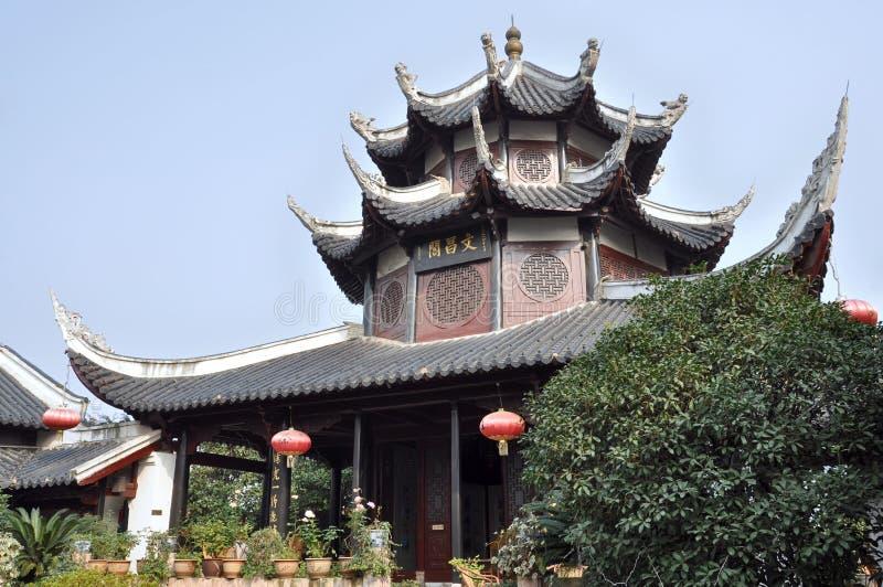 Pavillon de Wenchang photographie stock libre de droits