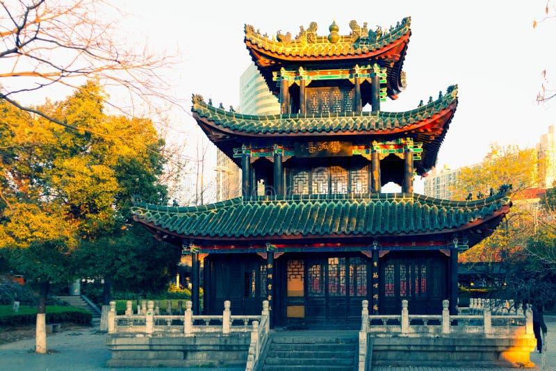 Pavillon de Yugu dans l'imitation Nan-Tchang-miniature image libre de droits