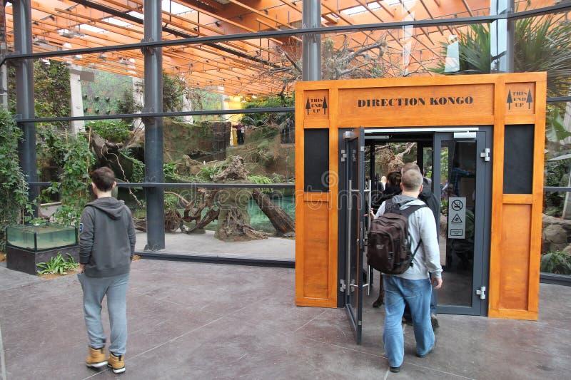 Pavillon de zoo photos libres de droits