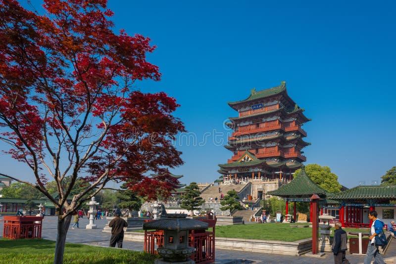 Pavillon du pavillon 5 de prince TengTengwang images stock
