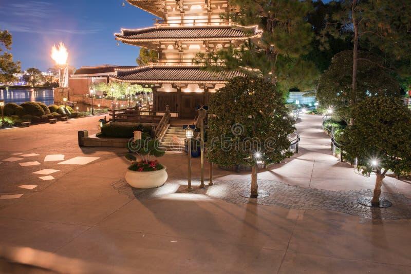 Pavillon du Japon chez Epcot photos libres de droits