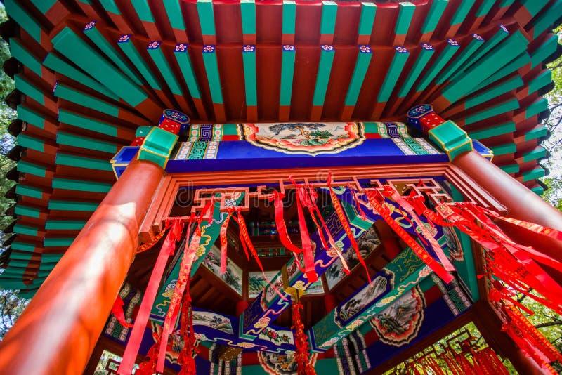 Pavillon du ` s de la Chine petit photo libre de droits