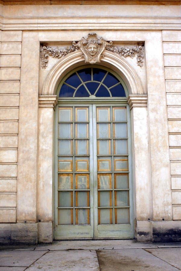 The Pavillon Français - Versailles. The Pavillon français is a cause garden built for Louis XV and Madame de Pompadour by Ange-Jacques Gabriel in the heart stock photo