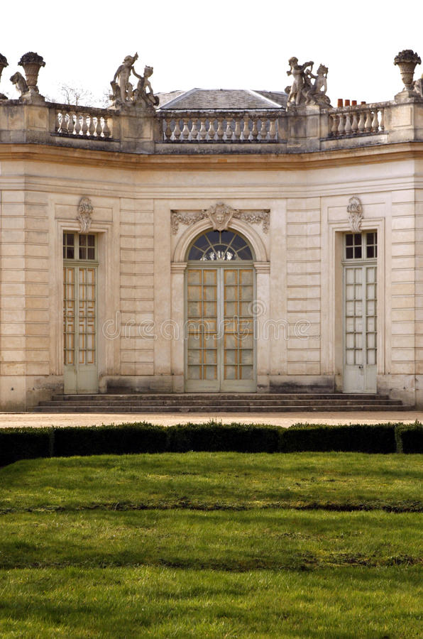 The Pavillon Francais- Versailles royalty free stock photo