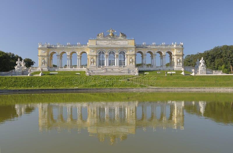 Pavillon Gloriette, Vienne, Autriche photographie stock