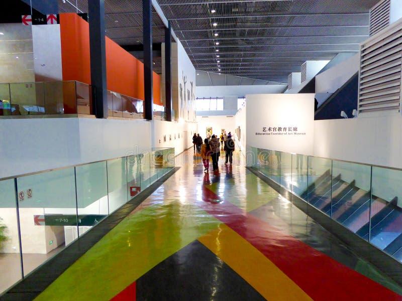 Pavillon intérieur de la Chine d'expo du monde de Changhaï photos stock