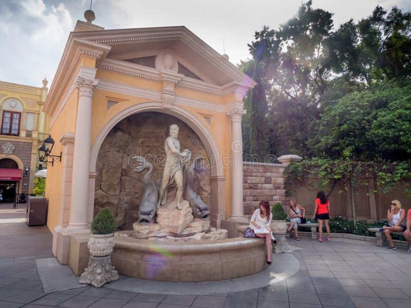 Pavillon italien, étalage du monde, Epcot image libre de droits