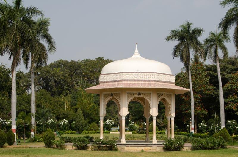 Pavillon, Jardins Publics, Hyderabad Photos libres de droits