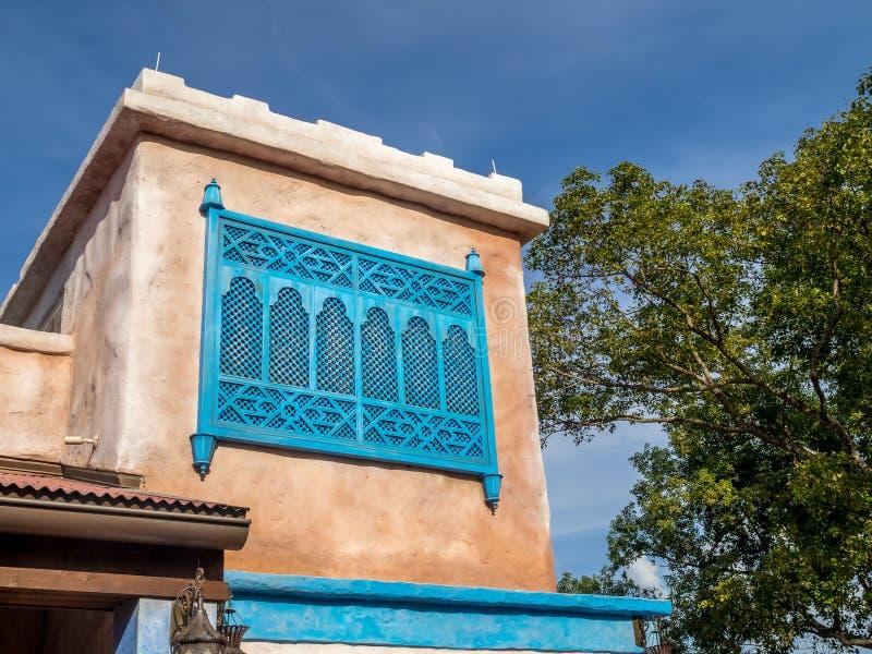 Pavillon marocain, étalage du monde, Epcot image libre de droits