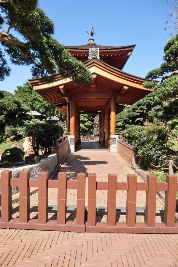 Pavillon Nan Lin Garden chez Hong Kong image stock
