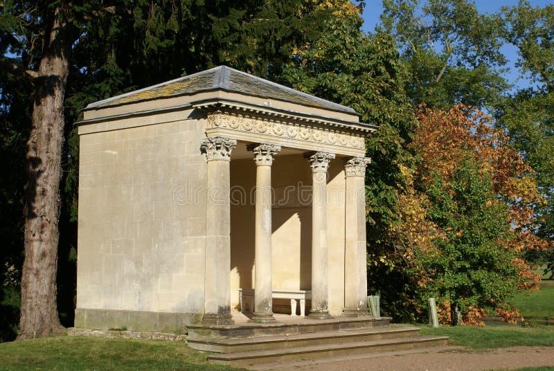Pavillon, pavillon, parc de Croome, Worcestershire, Angleterre images stock