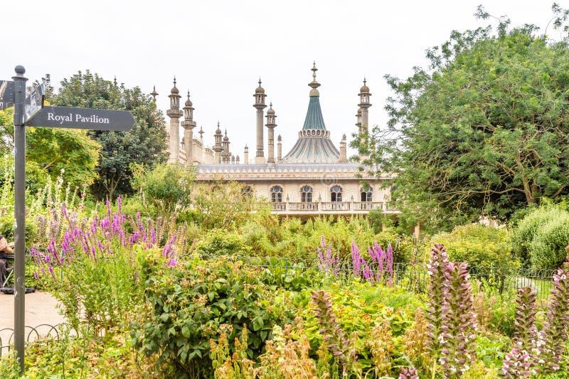 Pavillon royal à Brighton dans le Sussex est au R-U image stock