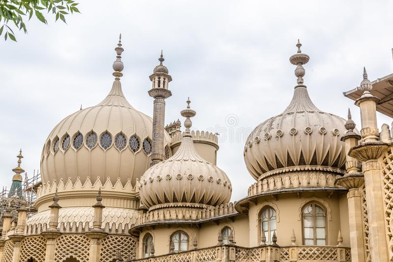 Pavillon royal à Brighton dans le Sussex est au R-U image stock