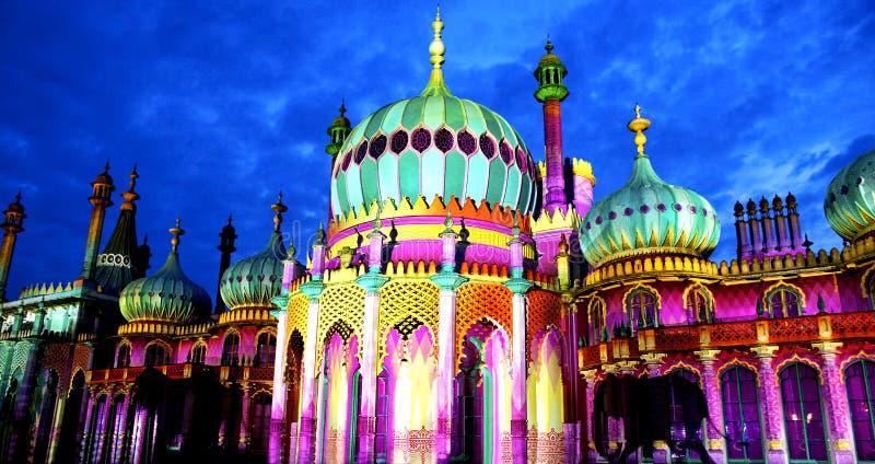 Pavillon royal du ` s de Brighton, Brighton Festival, 2016, U k images libres de droits