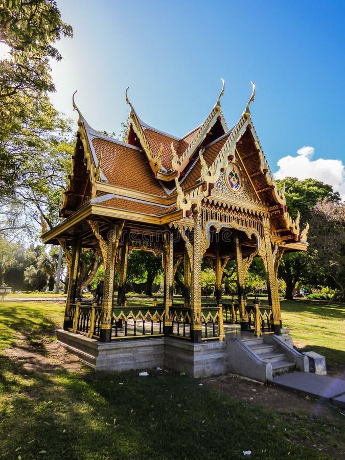 Pavillon thaïlandais à Belem, Lisbonne photo stock