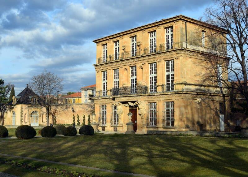 Pavillon Vendome, Aix-en-provence, Frankrike fotografering för bildbyråer