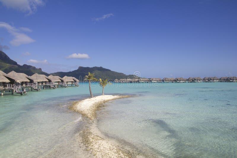 Pavillons de bora de Bora images stock