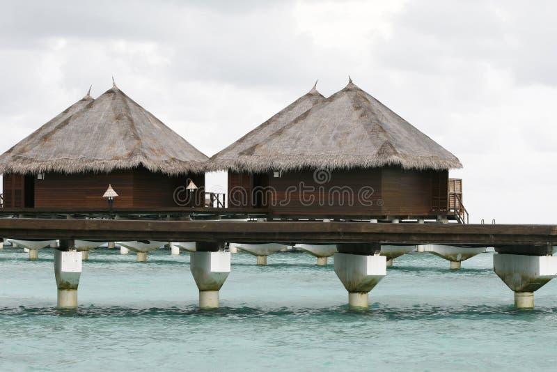 Pavillons tropicaux photographie stock libre de droits