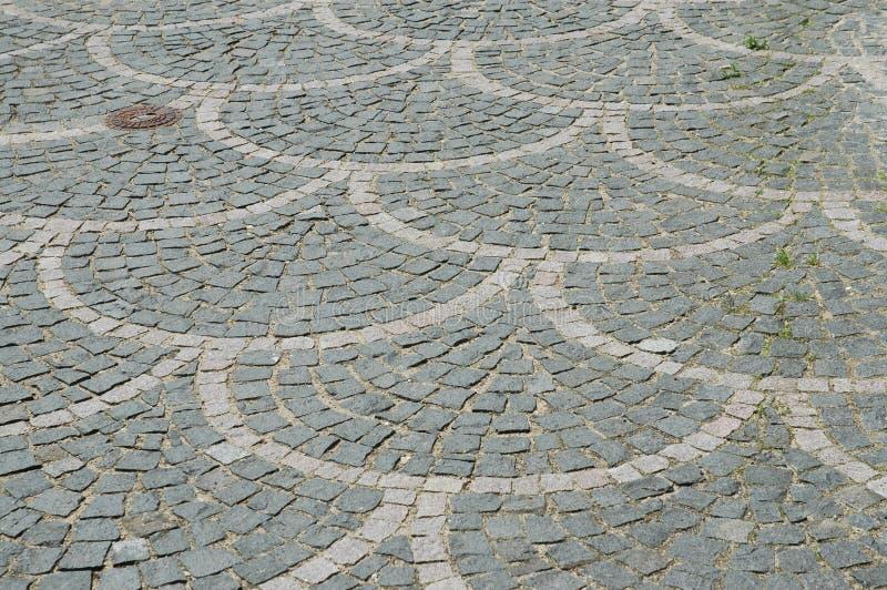 Pavimentação Arched fotografia de stock royalty free