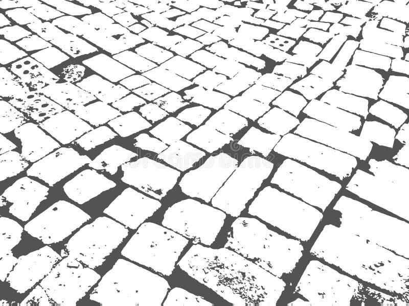 Pavimentación de la albañilería libre illustration