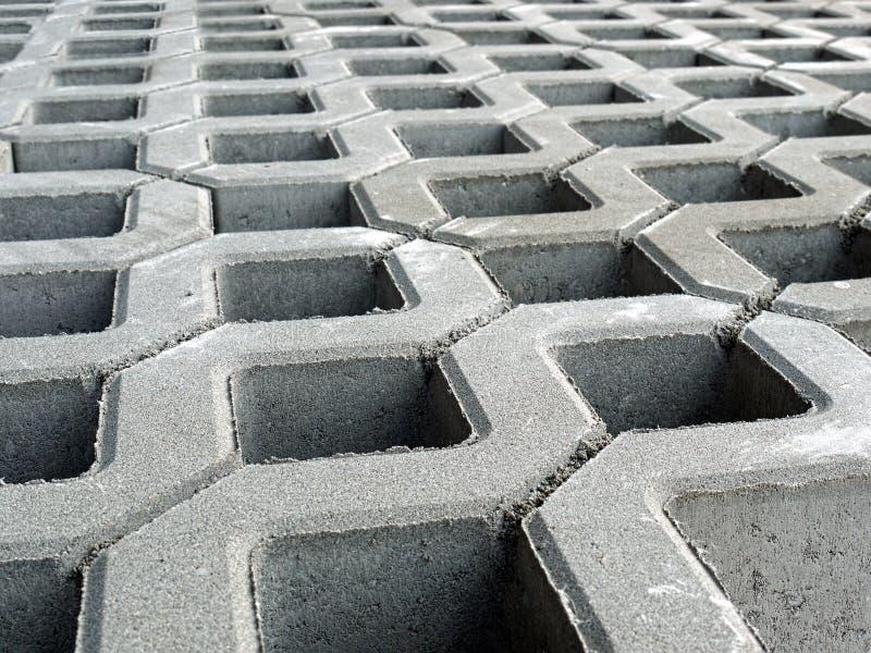 Pavimentazione in calcestruzzo immagine stock libera da diritti