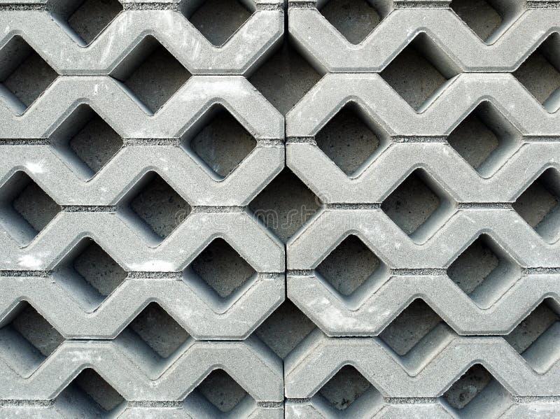 Pavimentazione in calcestruzzo fotografie stock