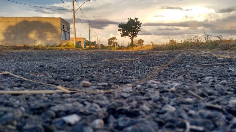 Pavimentazione dell'asfalto fotografie stock libere da diritti