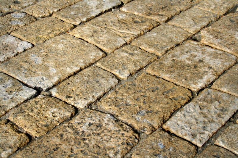 Pavimentazione di pietra fotografie stock libere da diritti