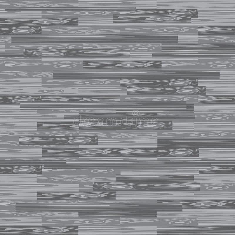 Pavimentazione senza cuciture del parquet Struttura di parquet Fondo del pavimento Modello di legno di vettore Laminato con le pl illustrazione di stock