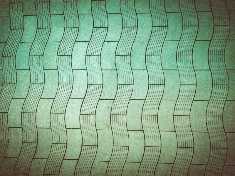 Pavimento concreto de la mirada retra imagen de archivo libre de regalías