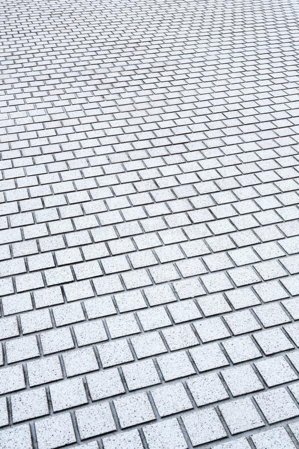Pavimento concreto do tijolo foto de stock royalty free