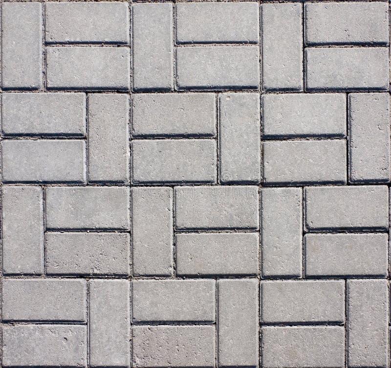 Pavimento concreto embaldosado del mosaico foto de archivo for Pavimento de cemento