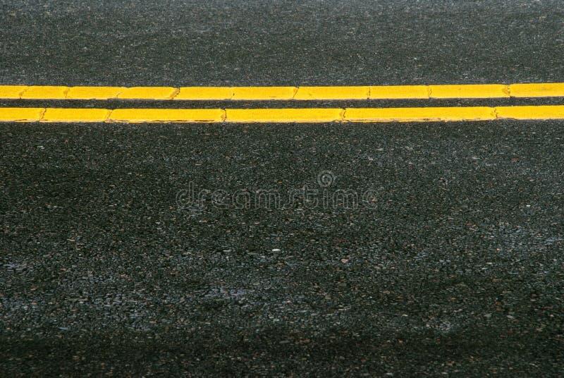 Pavimento da estrada foto de stock