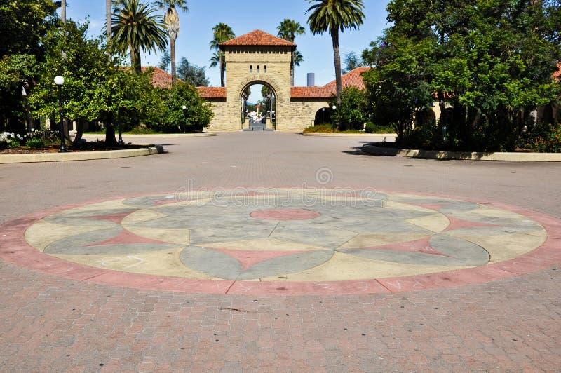 Pavimento de pedra colorido foto de stock royalty free