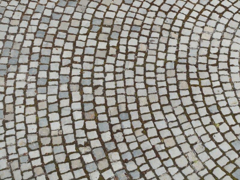 Pavimento de piedra fotografía de archivo