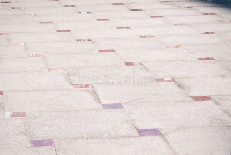 Pavimento de piedra moderno fotografía de archivo